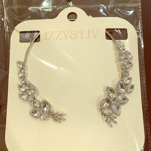 Izzy & Liv reverse collar necklace silver